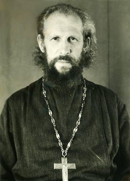 Отец Николай Высокосов,1959 год