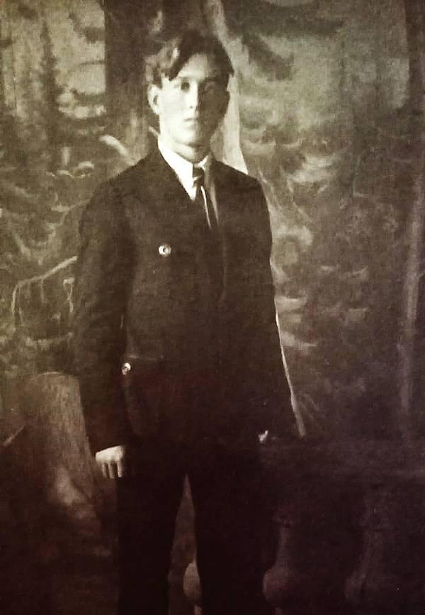 Николай Шмарин. Лебедянь, 1923 г.