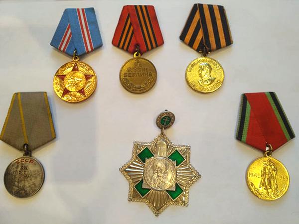 Награды о. Николая Высокосова
